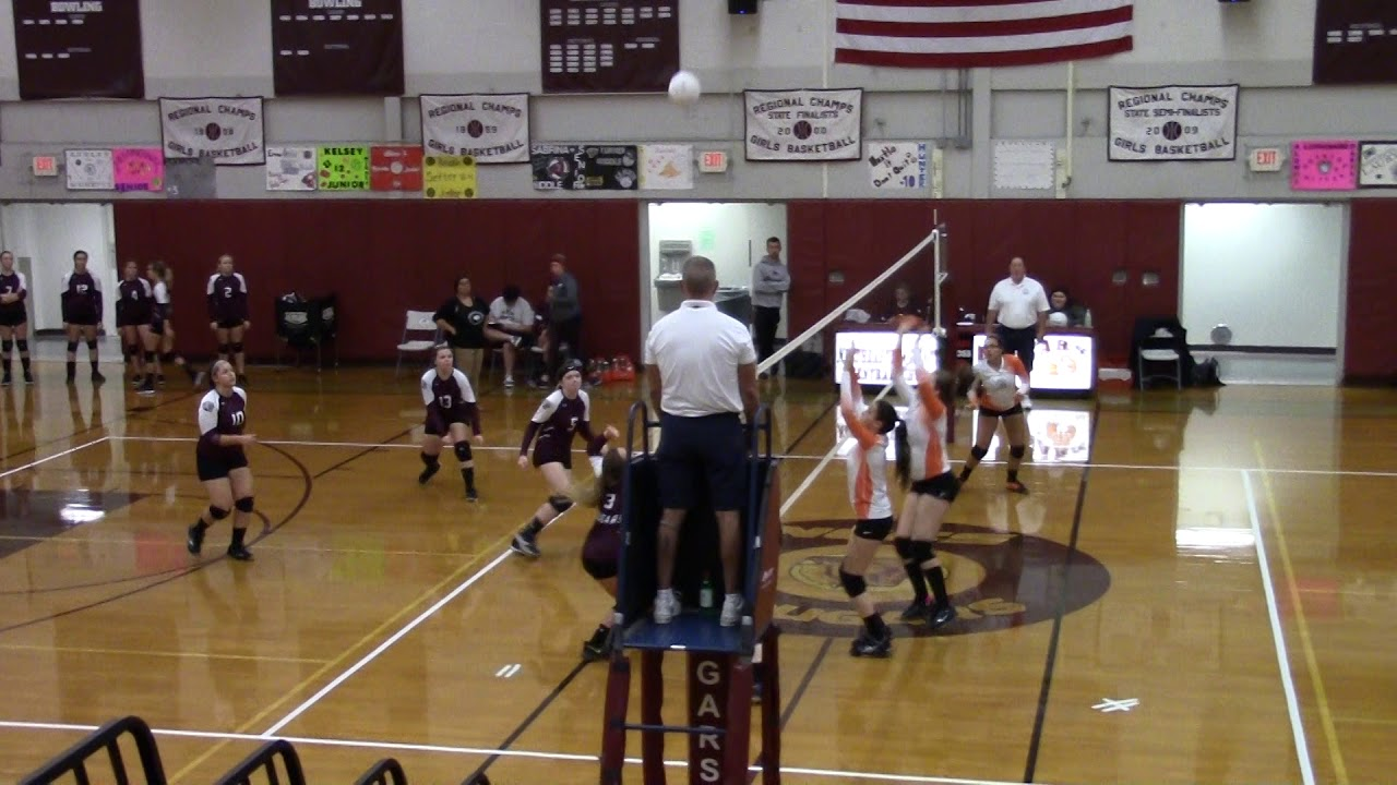 NCCS - Plattsburgh Volleyball  10-11-18