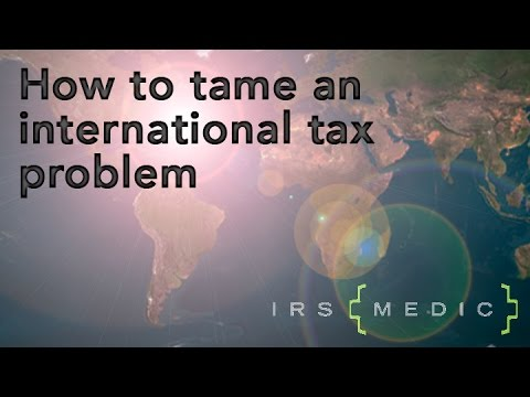 Getting help for international tax issues