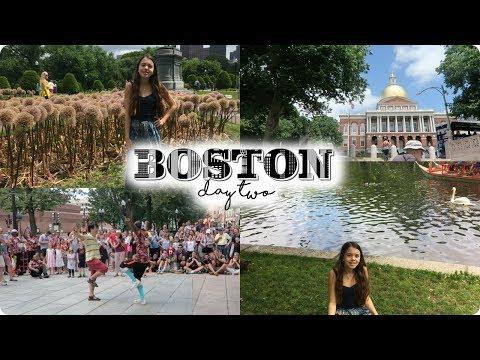 BOSTON DAY 2 VLOG: Nature Photoshoot, Freedom Trail, and Panicking!