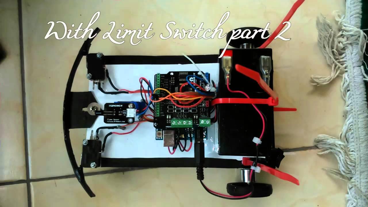 Robot pencari api sederhana arduino program youtube