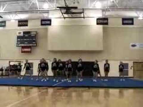 gorham high school cheerleading SMAA:round one