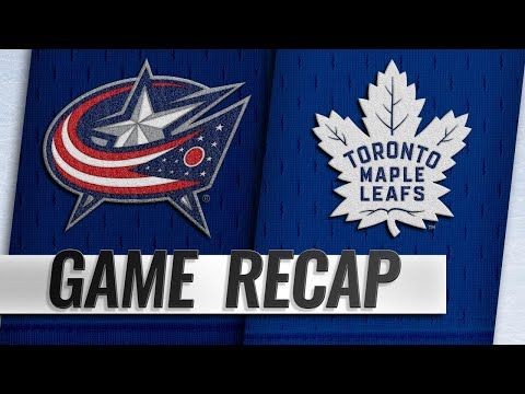 Hyman, Andersen lead Maple Leafs past Blue Jackets