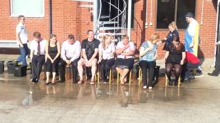 Tesco Newmarket Ice Bucket Challange
