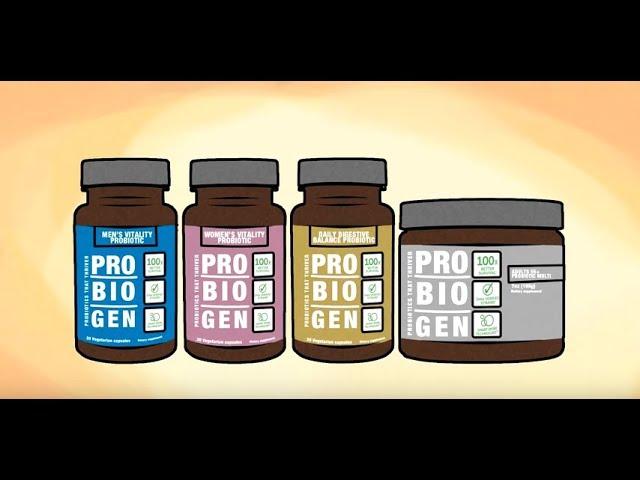 Health Benefits of Probiogen™ Probiotics and Smart Spore Technology™
