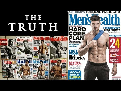 Male fitness model workout and diet plan | MEN'S HEALTH COVER MODEL