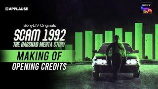 Scam 1992 - Making of Opening Credits | Jishnu | Arkaprabha | Achint