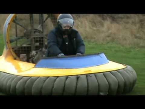 BBC Radio Shropshire, Clare Ashford hovercrafting