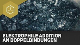 Elektrophile Addition an Doppelbindungen (Brom an Ethen)