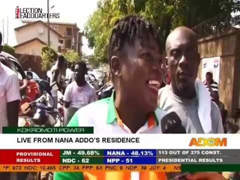 Live from Nana Addo's Residence - Kokromoti Power on Adom TV (8-12-16)
