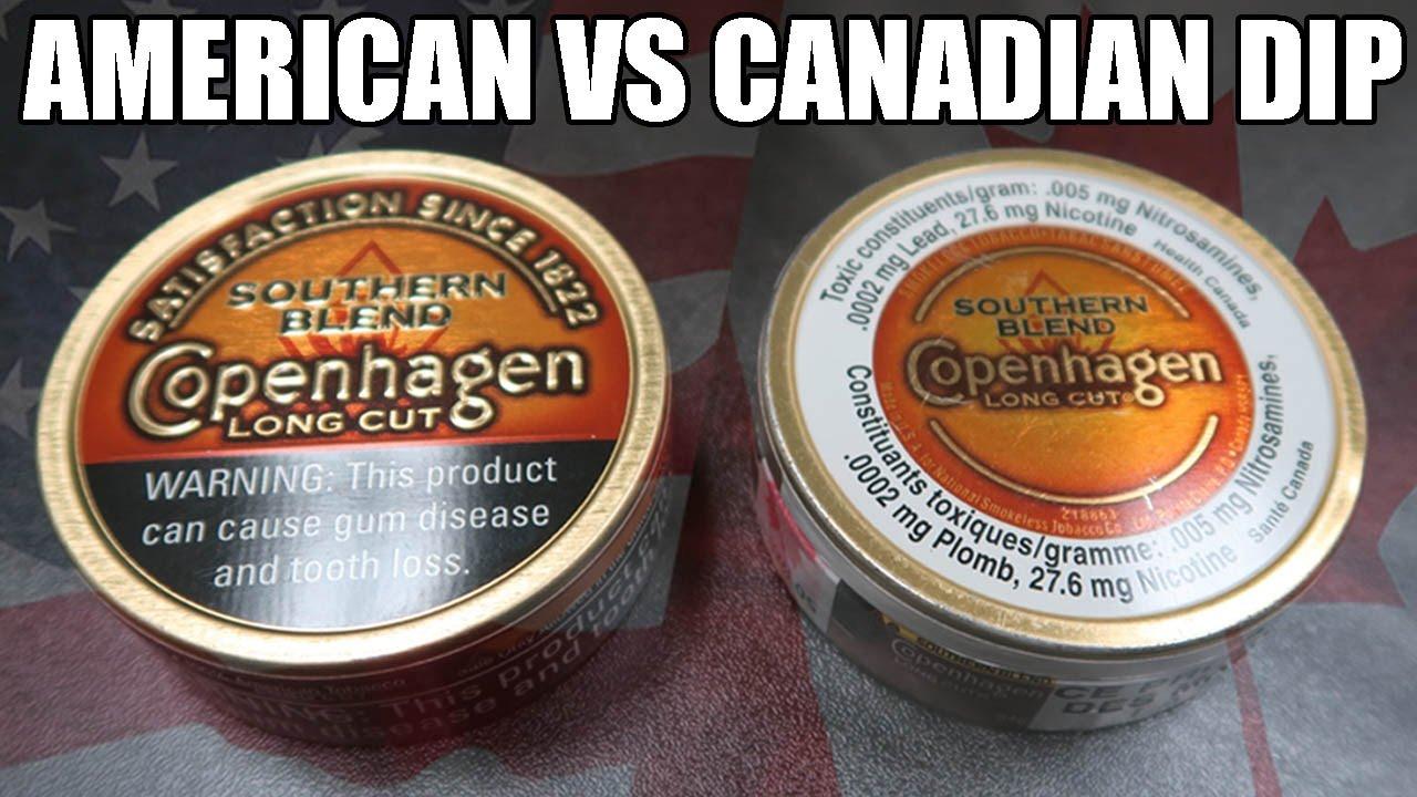 AMERICAN VS  CANADIAN DIP!