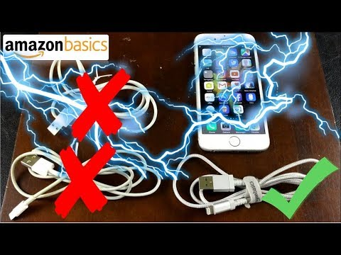 Amazonbasics Nylon Braided Usb Lightning Cable Review