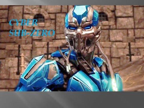 Truco para jugar con CYBER SUB-ZERO y Nuevos Personajes Mortal Kombat XL
