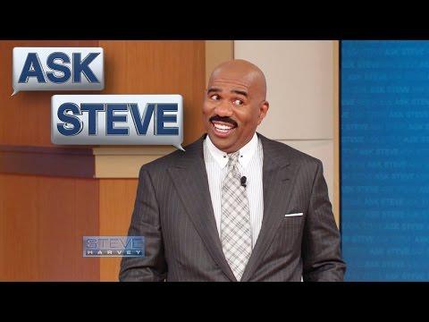 Ask Steve: Don't talk back to me! || STEVE HARVEY