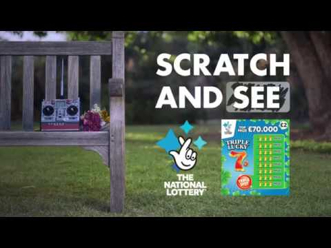 Scratchcards From The National Lottery - Harriet's Helicopter Date