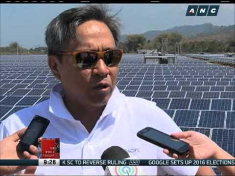 Solar power plant opens in Misamis Oriental