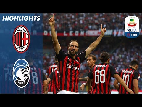 AC Milan 2-2 Atalanta | Atalanta come from behind twice to earn draw | Serie A