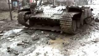 Углегорск после зачистки Украина война ато новости сегодня Уникальные кадры Эксклюзив