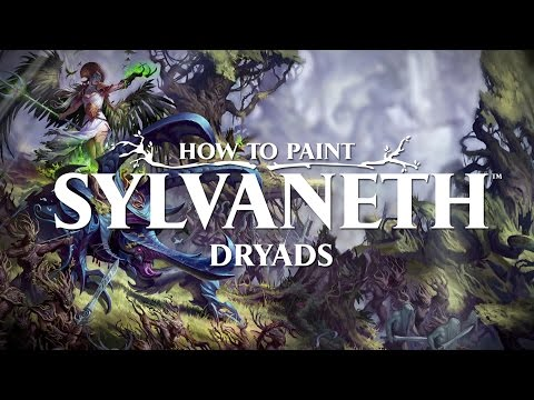 How to Paint: Sylvaneth Dryads