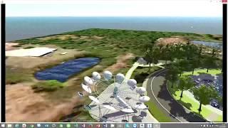 Концептуальное проектирование территорий на примере «Парк аттракционов» с Autodesk Infraworks
