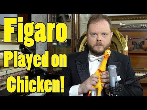 """Rossini - Figaro on Chicken - Il Barbiere di Siviglia """"Largo al factotum"""""""