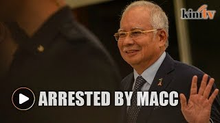 MACC arrests Najib over 1MDB audit 'tampering'