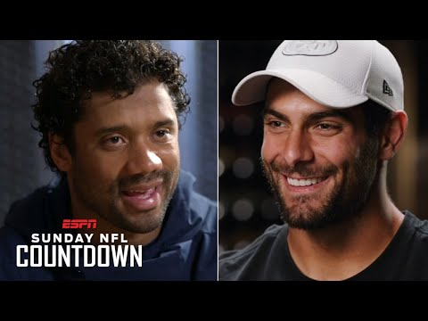 Russell Wilson And Jimmy Garoppolo Embrace The Seahawks Vs. 49ers NFC West Battle | NFL Countdown