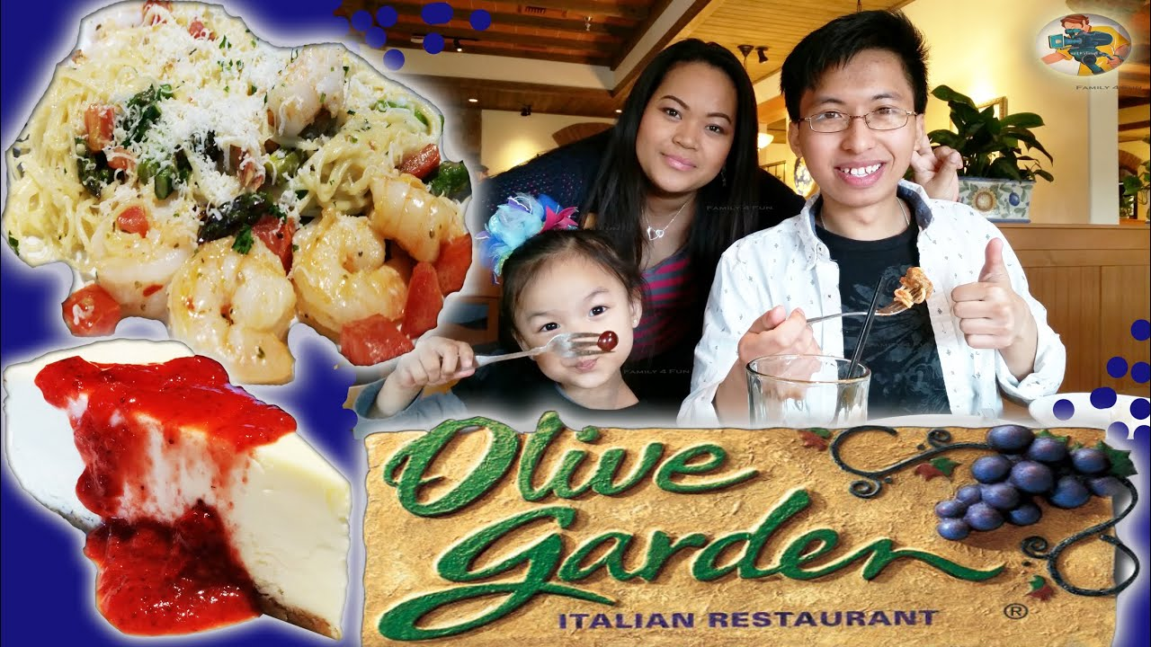 family 4 fun dine out at olive garden and food review new shrimp scampi grilled chicken piadina - Is Olive Garden Open On Christmas Eve