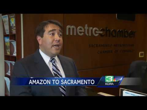 1,000 jobs are coming to Sacramento area thanks to Amazon