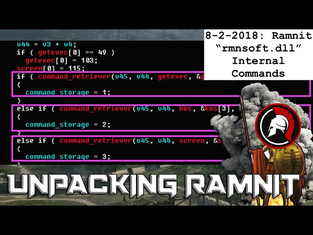 How to Unpack Ramnit Dropper - Malware Unpacking Tutorial 2