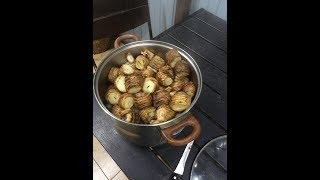 рецепт картофель на мангале
