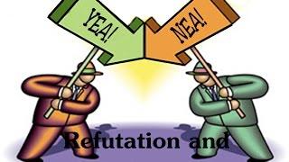 Debate Lesson: Refutation And Rebuttal