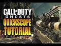 "How To QuickScope in Call of Duty Ghosts - COD Ghost ""QuickScoping Tutorial"" - QuickScoping"