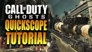 "Video How To QuickScope in Call of Duty Ghosts - COD Ghost ""QuickScoping Tutorial"" - QuickScoping download MP3, 3GP, MP4, WEBM, AVI, FLV November 2017"