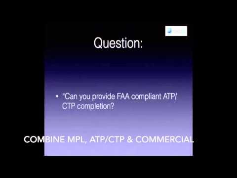 ATP CTP Programs & Recurrent B737 ATP CTP or A320 Recurrent ATP CTP