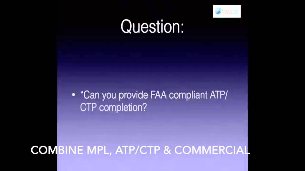 Atp Ctp Certification Programs Youtube