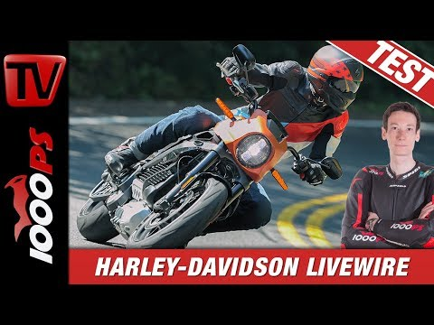 Test Harley-Davidson LiveWire 2019! Ganz untypisch für Harley!