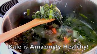 Kale And White Bean Soup - Nutritionist Karen Roth - San Diego