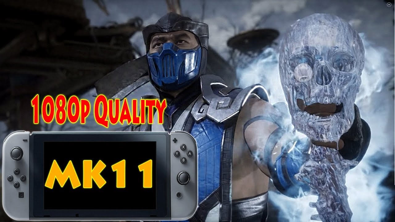 Mortal Kombat 11 Nintendo Switch Quality 1080p