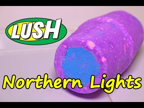 Thumbnail: LUSH - NORTHERN LIGHTS Bath Bomb - DEMO - Underwater View - Review Christmas 2016 Version