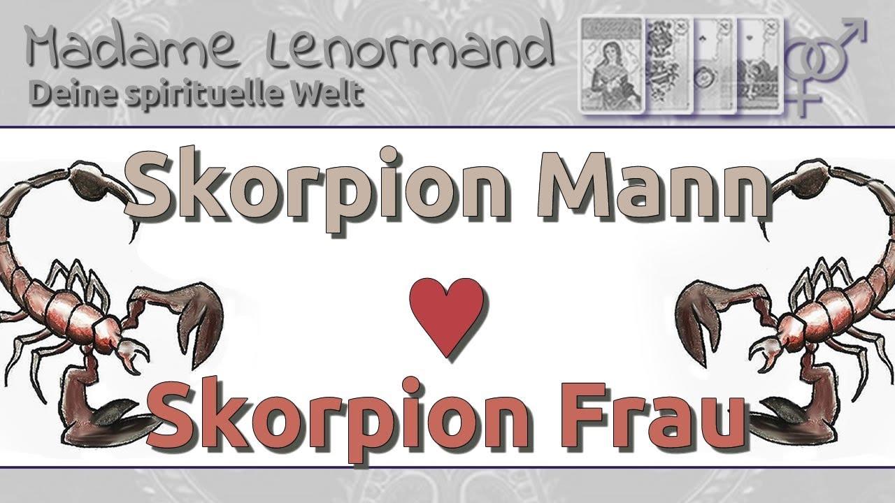 Skorpion frau partner skorpion mann