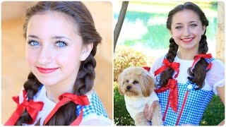Dorothy Braids | The Wizard of OZ | Halloween Hairstyles
