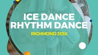 Tsoi Chloe Dan / Wang Long You Zimou (TPE)| Ice Dance Rhythm Dance | Richmond 2018