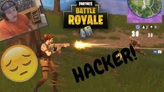Hacker Vs Thanos(850hp) + Replay - Fortnite! ;(