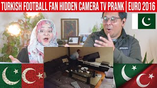 Turkish Football Fan Hidden Camera TV Prank EURO 2016 Pakistani Reaction Subtitles