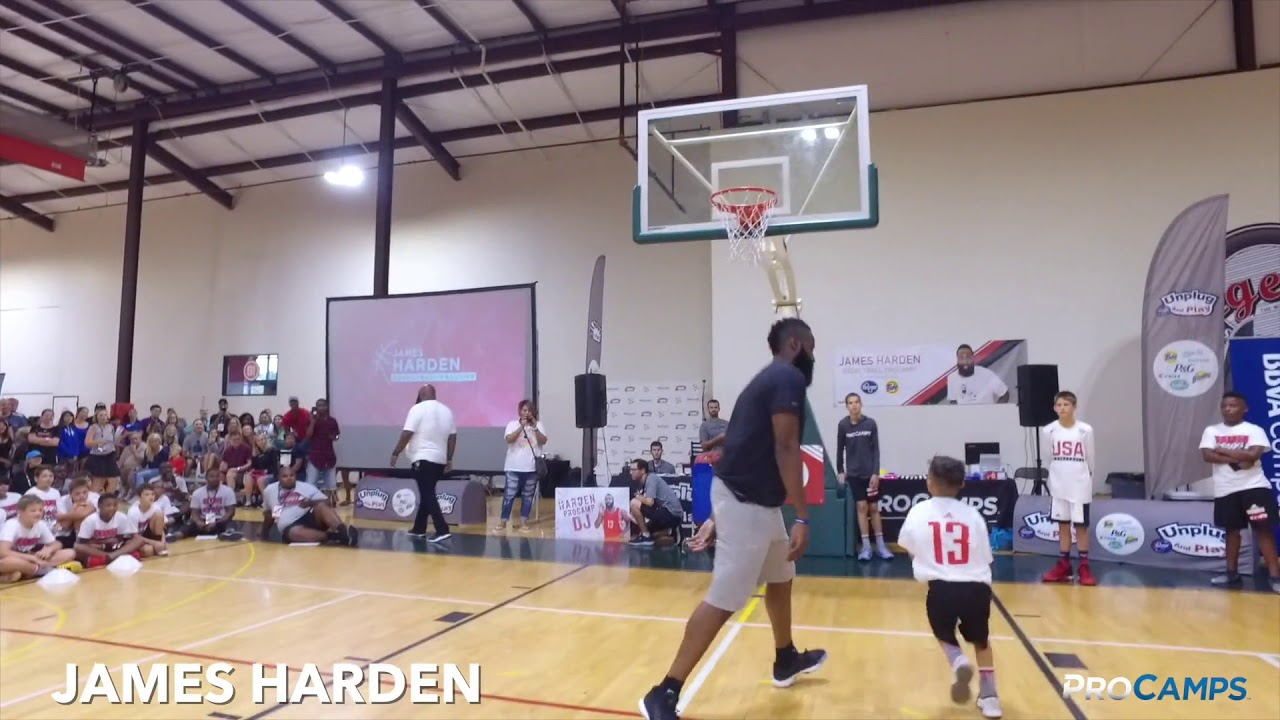 reputable site 39425 34334 James Harden Basketball ProCamp