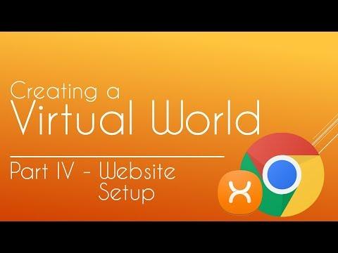 Creating A Virtual World / MMO #4 - Website Setup (PHP + HTML)