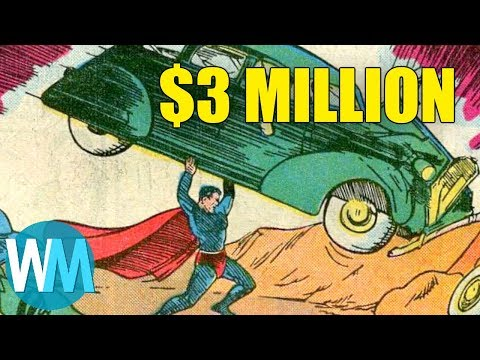 Top 10 Most Valuable Comic Books Of All Time - YouTube