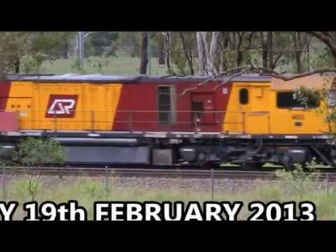 Queensland Coal trains  are NOISEY ! What's NEW ?