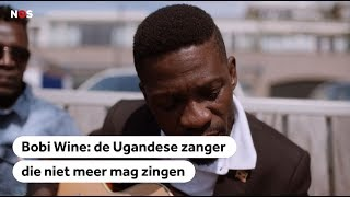 BOBI WINE: Gemuilkorfd in Uganda, laat hij in Nederland zijn stem horen