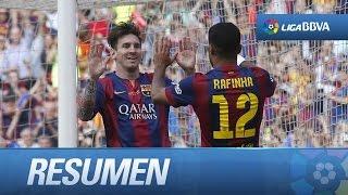 Resumen de FC Barcelona (2-2) Deportivo de la Coruña